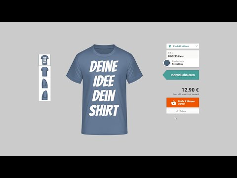 T-Shirt selber designen/bedrucken from YouTube · Duration:  3 minutes 36 seconds