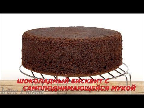 Шоколадный бисквит с самоподнимающейся мукой