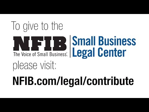 #GivingTuesday & NFIB Small Business Legal Center