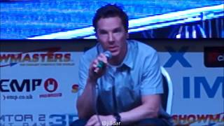 Benedict Cumberbatch talks about Sherlock and LOVE~ London Film and Comicon! LFCC 2017