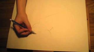 SPEED DRAWING AMERICAN DRAGON JAKE LONG!!!
