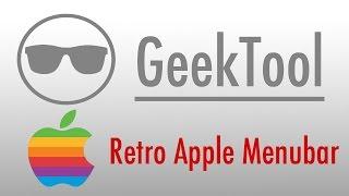 Gambar cover MAC - Change menubar logo to the retro Apple logo
