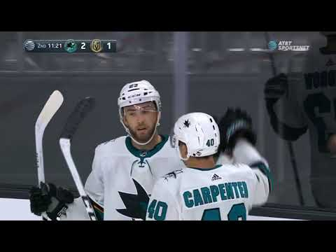 San Jose Sharks vs Vegas Golden Knights - October 1, 2017 | Game Highlights | NHL 2017/18