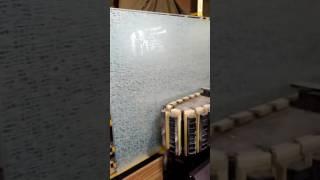 видео Двери с пескоструйным рисунком для компании SAMSUNG