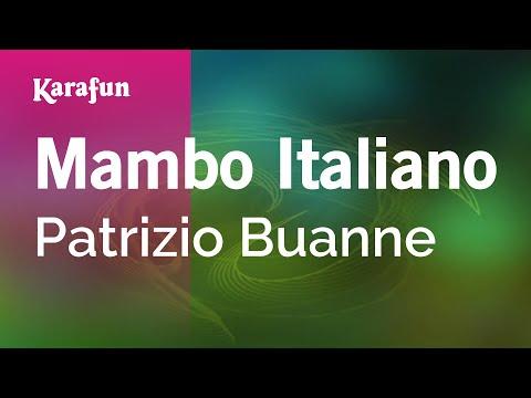 Karaoke Mambo Italiano - Patrizio Buanne *