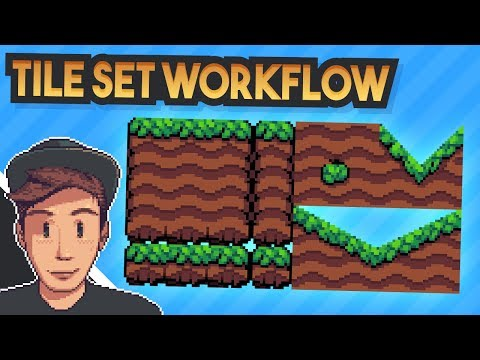 My Tileset Workflow (Pixel Art & Gamedev Tutorial)