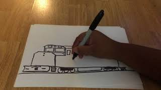 How To Draw A SDP40F