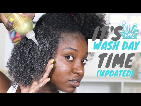 Max Hydration Wash Day Routine   Natural Hair