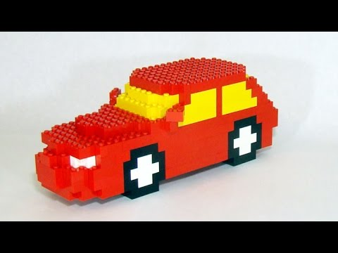how to build a red lego car youtube. Black Bedroom Furniture Sets. Home Design Ideas