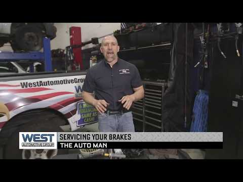 Servicing Your Brakes