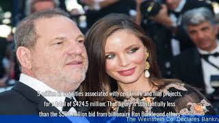 The Weinstein Co. Declares Bankruptcy