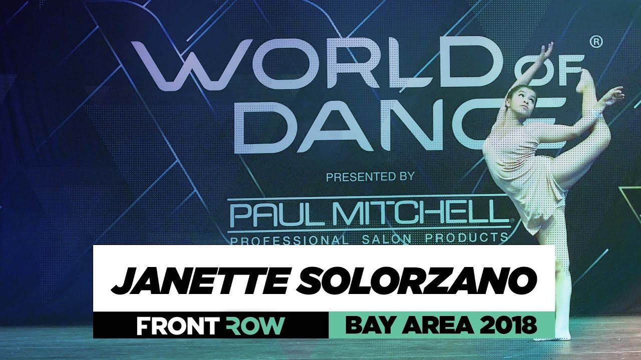 Janette Solorzano | FrontRow | World of Dance Bay Area 2018 | #WODBAY18