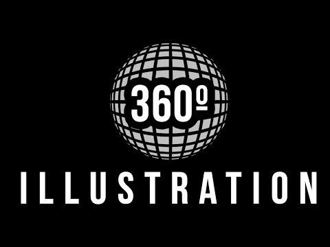 360 illustration tutorial (Photoshop)
