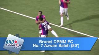 RHB Singapore Cup: Global FC vs Brunei DPMM FC