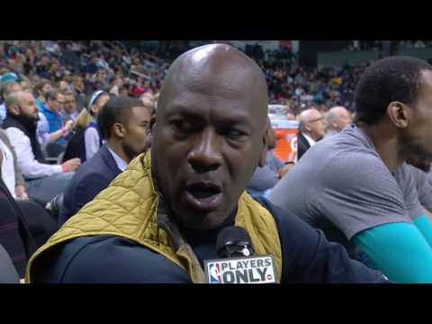 Michael Jordan Talks About UNC/Duke Rivalry, Kemba Walker and More..