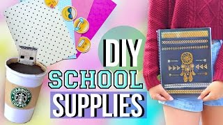 DIY Back to School Supplies and Organization | JENerationDIY