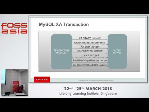 Enhanced XA Support for Replication in MySQL-5.7 - Nisha Gopalakrishnan - FOSSASIA 2018
