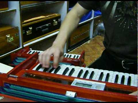 Harmonium Pilgrimage to the DMS store in Delhi, India, with Daniel Tucker