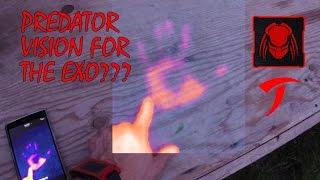 Exoskeleton Mk2 Part 9: Predator Style Heat Vision!