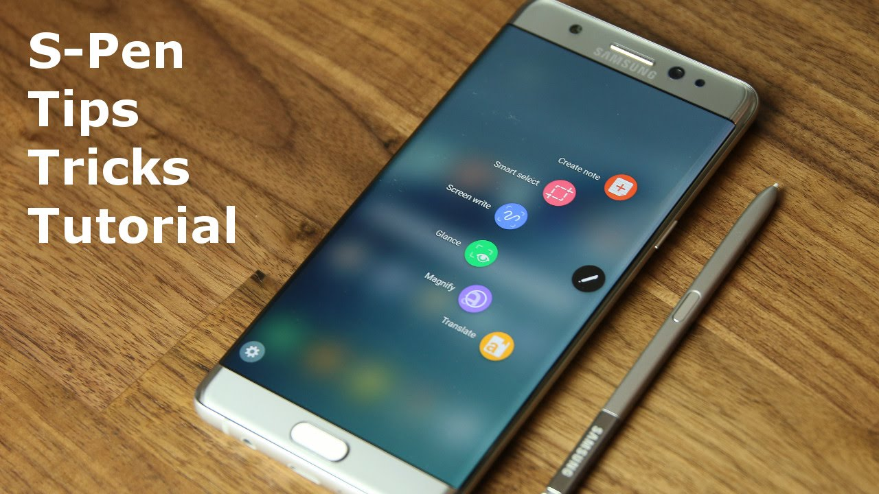 Samsung galaxy note 7 s pen tips tricks and full tutorial youtube baditri Choice Image