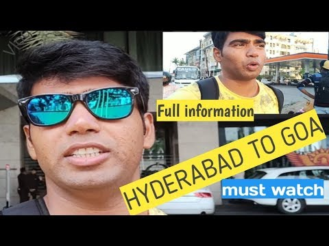 #Hyderabad #BUS #GOA #JOURNEY Goatrip HYDERABAD TO GOA FULL Vlog,  FIRST TIME BY BUS FACED  PROBLEM