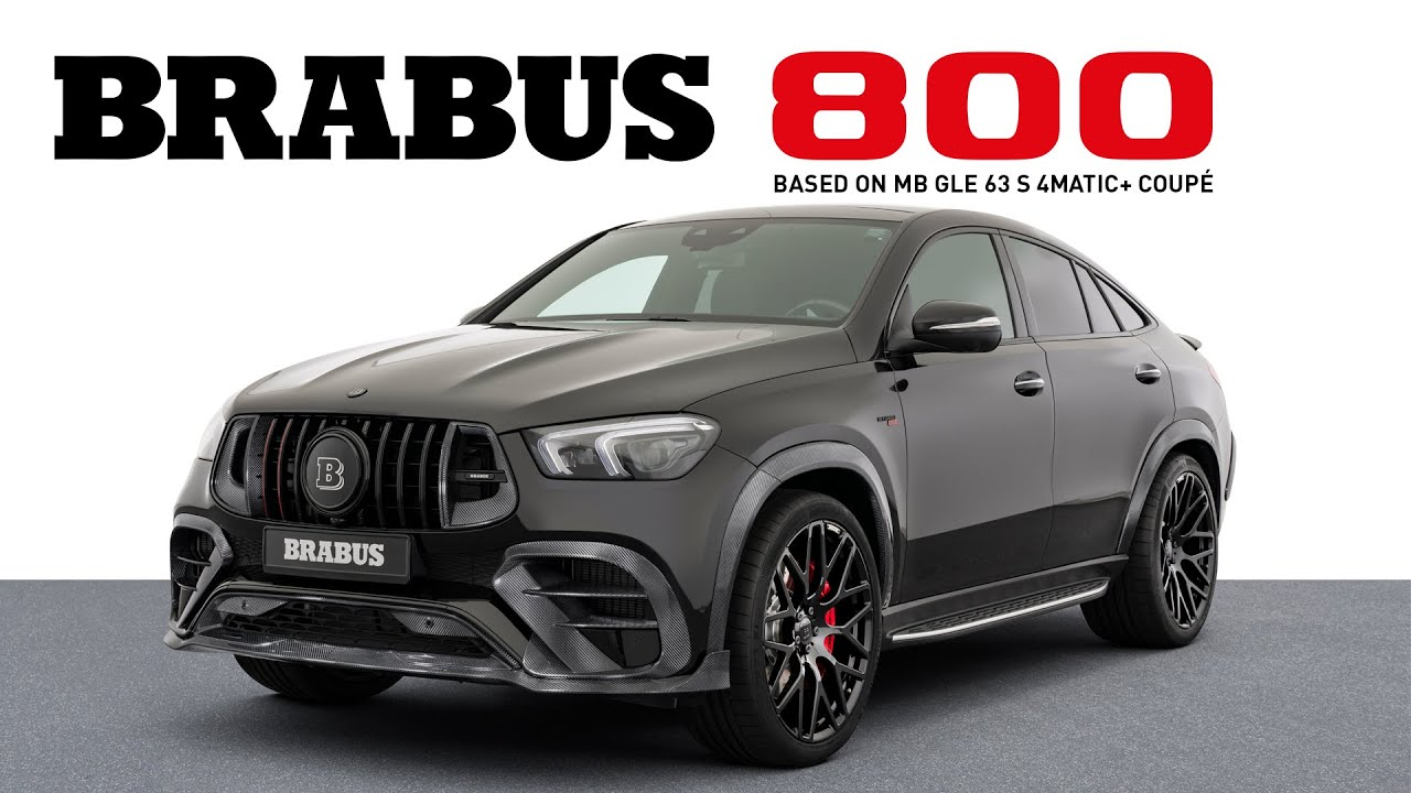 THE SUV IN STYLE | BRABUS 800 SUV Coupe
