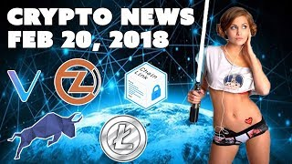 Crypto News - Feb 20 2018 - Polymath Litecoin Vechain Zclassic Chainlink