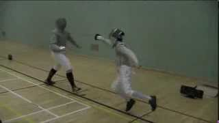 UCLAN vs Keele Sabre Match
