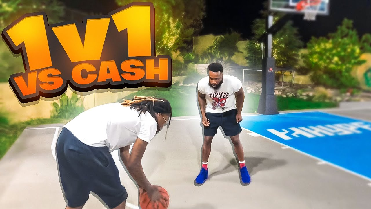 Download 1v1 Basketball Against CashNasty!