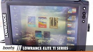 Lowrance Elite Ti Chartplotter/Fishfinder: First Look Video Sponsored by United Marine Underwriters