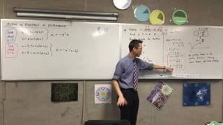 Motion as Functions of Displacement (2 of 2: Example question)