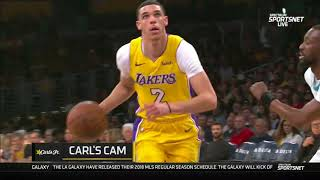 Lonzo Ball CROSSED Kemba Walker and finishes with a MONSTER Jam! (2018) thumbnail