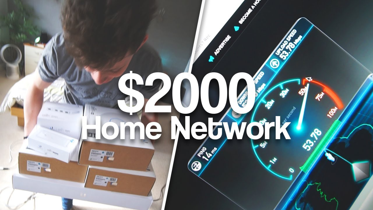 Alex\'s ULTIMATE Home Network Install | AC Access Points, POE ...