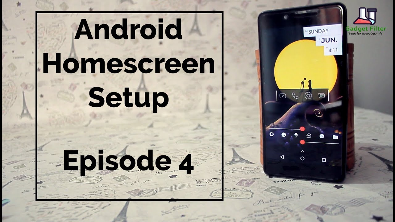 Best Android Homescreen Setup/Customization Tutorial by Nova ...