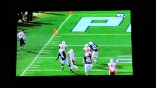 Worst officiating call of year.  Nebraska vs Penn state 2013
