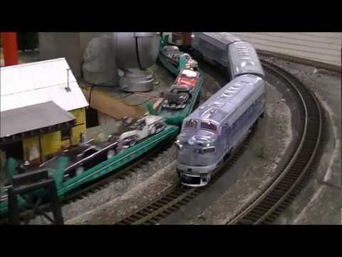 Railfanning G scale trains at the Kansas City Garden Railroad Society in Olathe KS