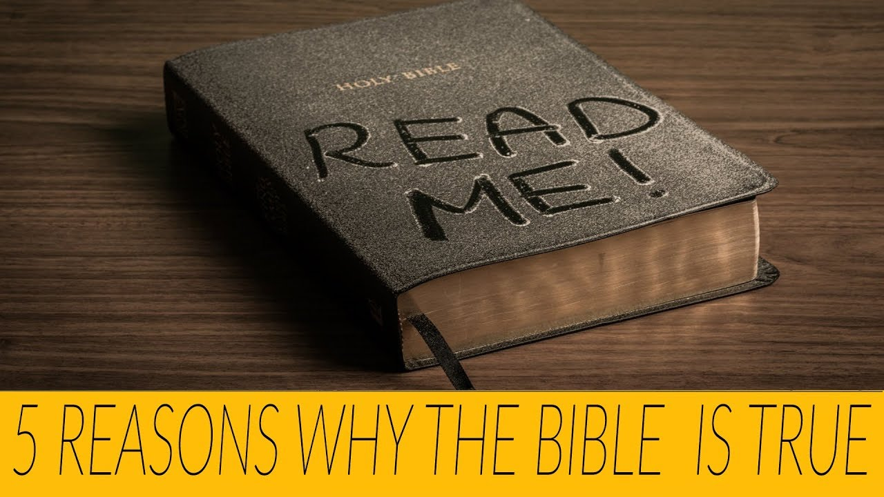 5 Reasons Why The Bible is TRUE