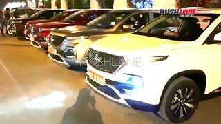 MG Hector dealer showcase / test drive