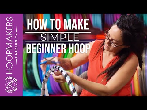 How to Make a Simple Beginner Hula Hoop