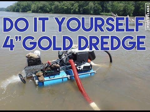 "DIY 4"" Gold Dredge"