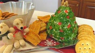 Betty's Three Cheese Dip  --  Christmas