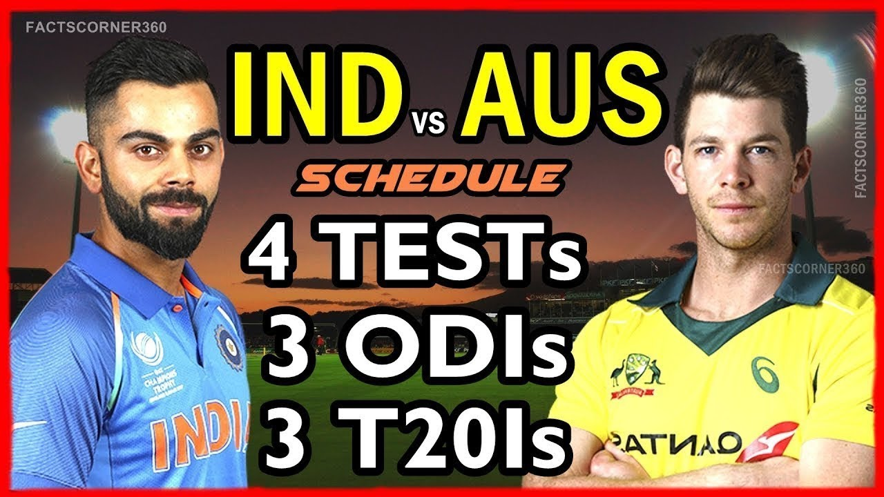 Ind Vs Aus 2019 Odi Schedule India Tour of Australia 2018   2019, Venue and Fixtures / India vs