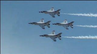 U.S.A.F. Thunderbirds 2012 Mount Comfort Airshow No. 1