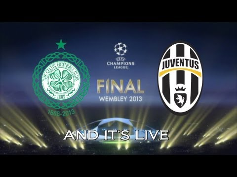PES 2013 - UEFA Champions League - Road To European Glory #13 - The Final - Celtic VS Juventus
