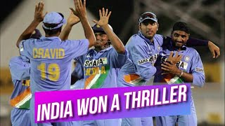 India won low-scoring thriller vs West Indies | Chance of reaching the Final DLF Cup 2006 Highlights