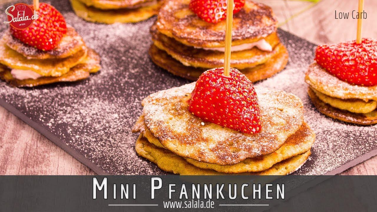 Low Carb Pfannkuchen Rezept Ohne Mehl Ohne Zucker Glutenfrei Youtube