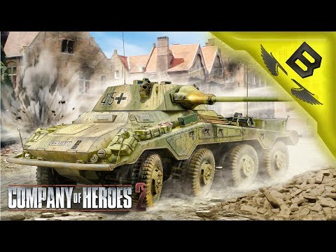 Osttruppen Zee Best Truppen - Company Of Heroes 2 Theater of War Co-op Mission #3