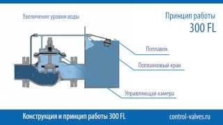 видео Регулятор уровня воды поплавковый 100 FL