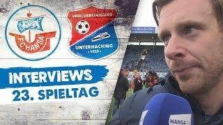 Interviews nach dem 23. Spieltag