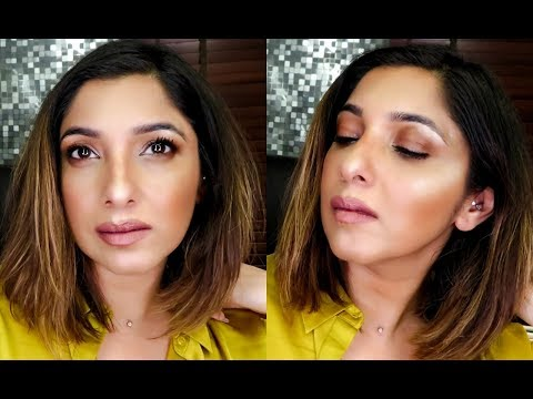 Detailed easy Makeup Tutorial for Beginners| Brushes to use| Going to work makeup look